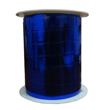 Cinta decorativa para regalos azul brillo