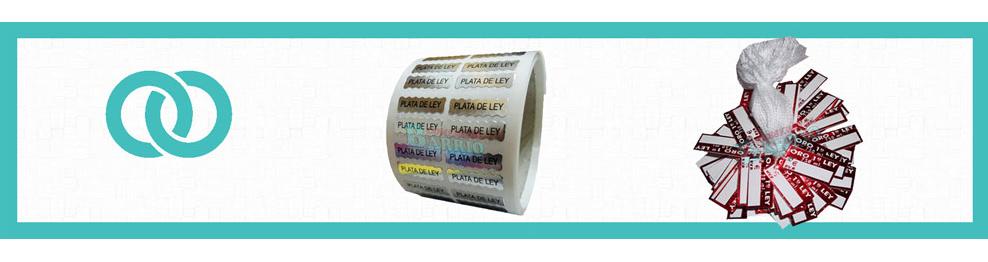 Etiquetas Adhesivas para Joyería