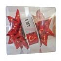 Caja Kit decoración navideña rojo