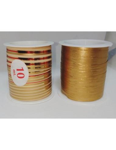 Bolsa de 2 Rollos de Cinta Decorativa oro
