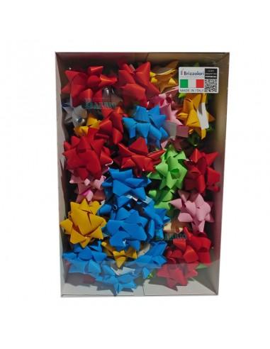 Lazos adhesivos de 19mm colores pastel