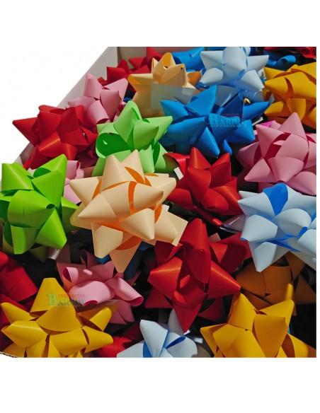 Estrellas adhesivas para regalos de 19 mm