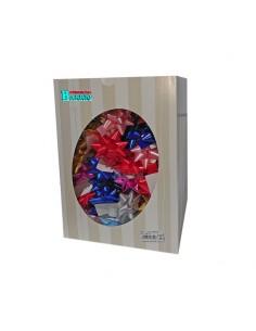Caja de 100 lazos adhesivos para regalos