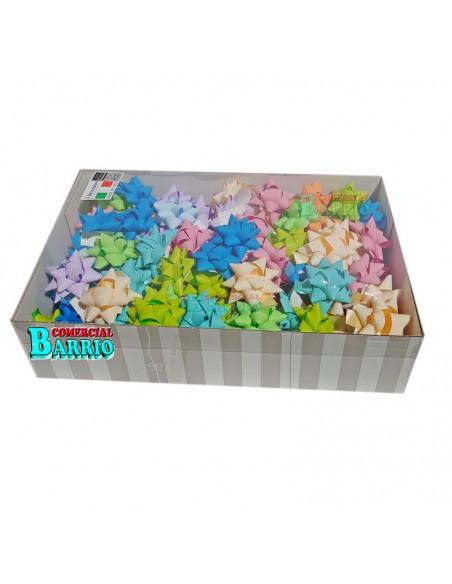 Caja de lazos adhesivos