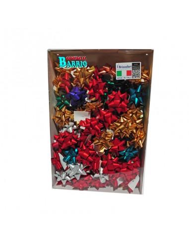 Caja de 100 estrellas adhesivas para regalos