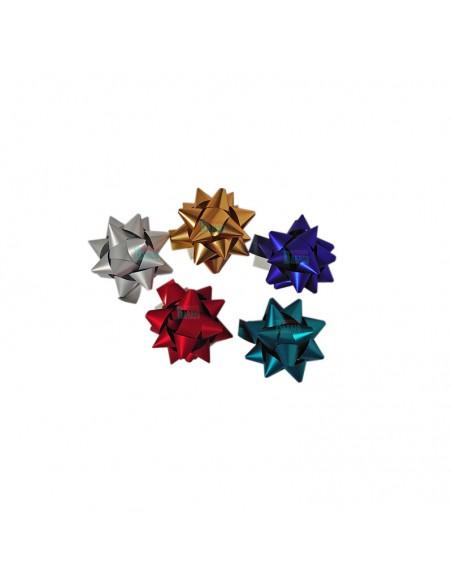 Estrellas adhesivas para regalos