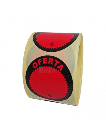 etiquetas adhesivas en rollo para oferta