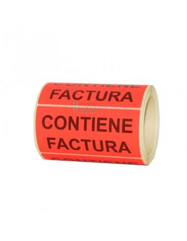 Etiquetas Contiene Factura