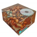Caja decoracion naranja