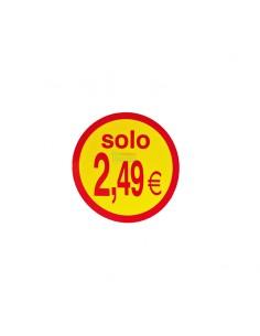Etiquetas para precios  2.49€