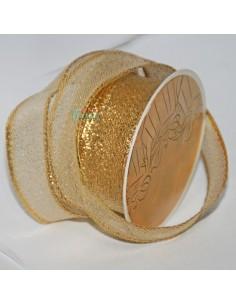 Cinta  Decorativa Oro semi...