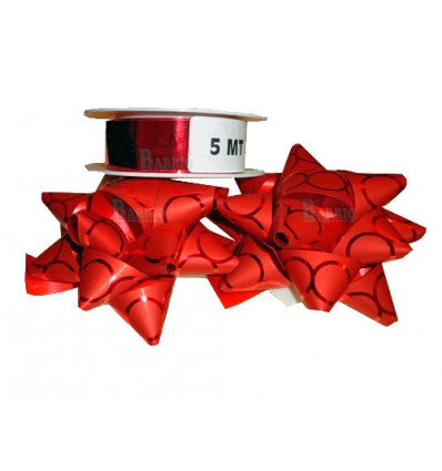Caja Kit decoracion rojo