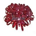 Moños color rojo espumillon