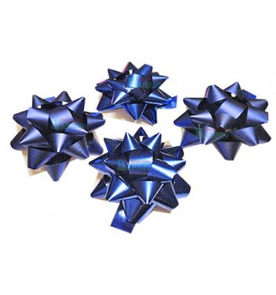 Bolsa de 4 moñas para regalos grandes azules