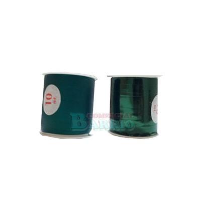 Bolsa cinta decorativa verde brillo y mate