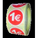 Etiquetas para precios 1€