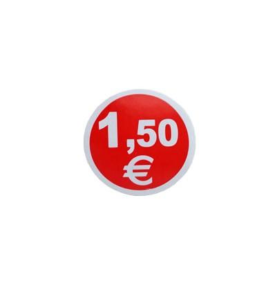 Etiquetas para precios 1,5€