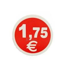 Etiquetas para precios 1,75€