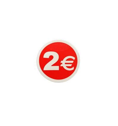 Etiquetas para precios 2€