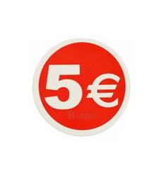 Etiquetas para precios 5€