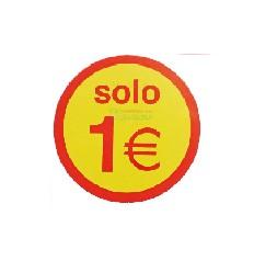 Etiquetas para precios solo 1€