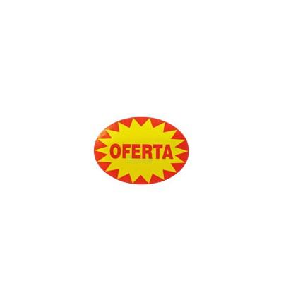 """Etiquetas para promociones """"Oferta"""""""