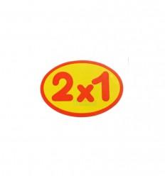 "Etiquetas para precios ""2x1"""