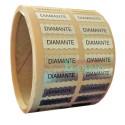 """Etiquetas adhesivas para joyería """"Diamante"""""""