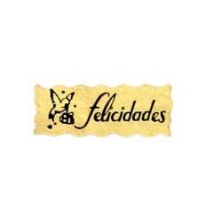 """Etiquetas para regalos """"Felicidades"""" Paloma"""