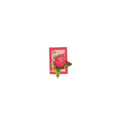 """Etiquetas para regalos """"Te quiero"""" Rosa"""