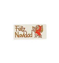 """Etiquetas para regalos de navidad """"Feliz Navidad"""" Papa Noel"""