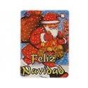 """Etiquetas para regalos de Navidad """"Feliz Navidad"""" Papá Noel grande"""