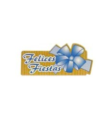 """Etiquetas para regalos de """"Navidad"""" azul"""