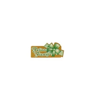 """Etiquetas para regalos de """"Navidad"""" verde"""