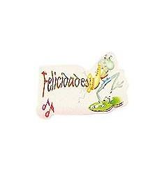 """Etiquetas para regalos """"Felicidades"""" Saltamontes"""