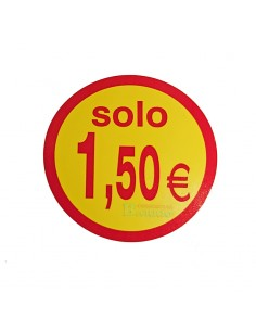 etiquetas adhesivas solo 1,5 Euros