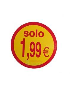 etiquetas adhesivas solo 1,99 Euros