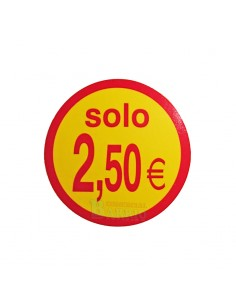 Etiquetas adhesivas solo 2,50 Euros