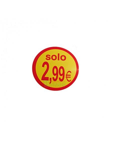 Etiquetas adhesivas solo 2,99€