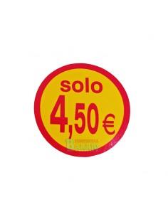 Etiquetas adhesivas solo 4,5o Euros