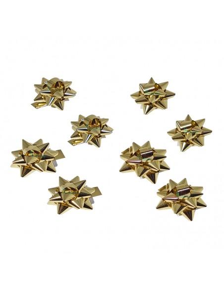 Estrellas adhesivas de 5 mm para regalos