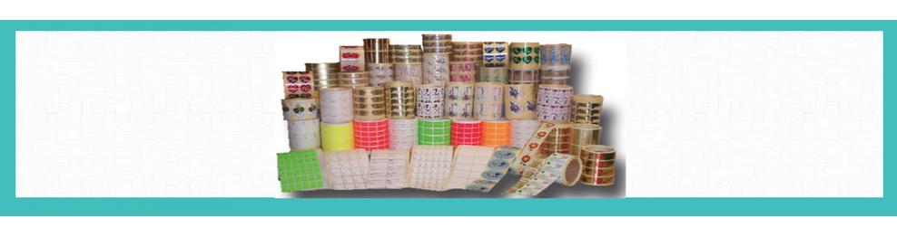 Etiquetas Adhesivas en rollo | Para precios, joyería... |Rollos de mil