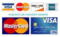 pago con tarjeta de debito o credito
